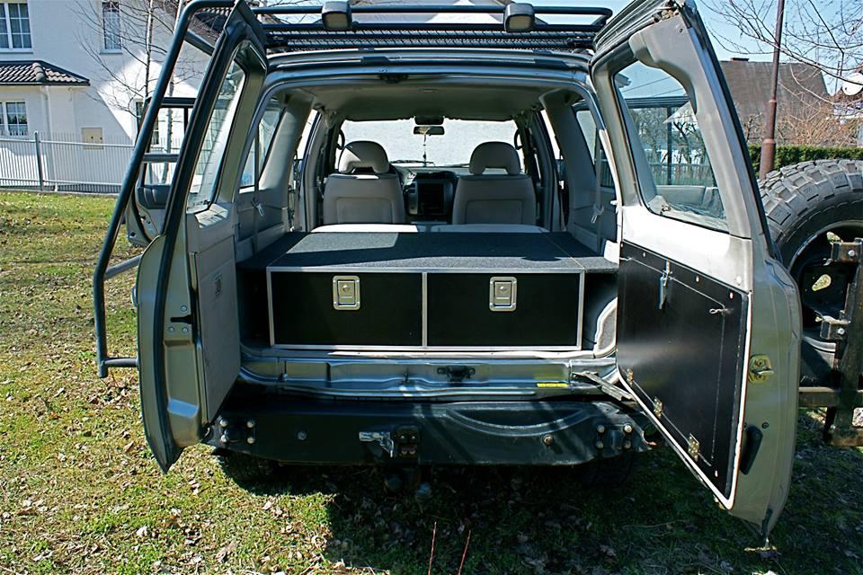 Zabudowa Nissan Patrol Y61